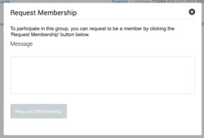 membership request